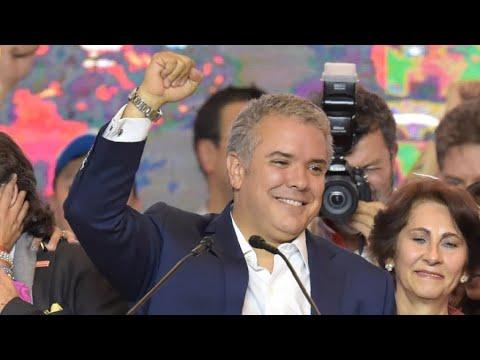 إيفان دوكي رئيس كولومبيا الجديد ظهر قبل عام وهذه أبرز خططه