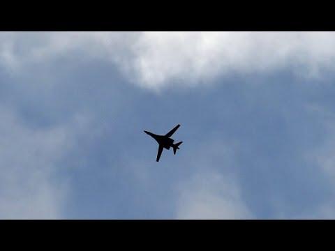 شاهدغارة للتحالف الدولي تستهدف موقعًا للجيش السوري قرب البوكمال