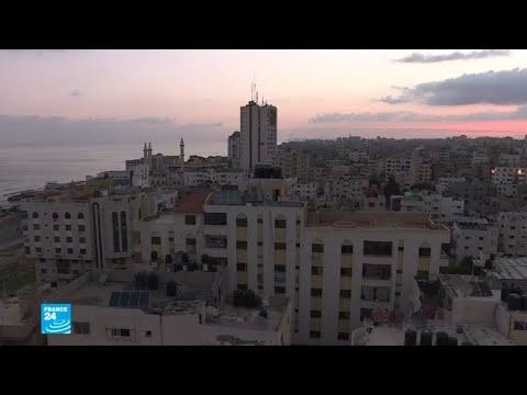 شاهدطائرات إسرائيلية تقصف 9 مواقع لحماس