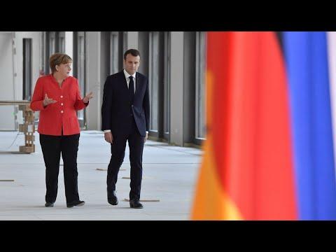 شاهدقمة فرنسية ألمانية لبحث سبل إصلاح منطقة اليورو