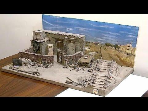 شاهد فنان عراقي يجسّد تاريخ بغداد بأعمال استثنائية