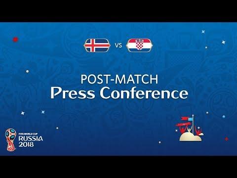 شاهد البث المباشر للمؤتمر الصحفي لمنتخب كرواتيا
