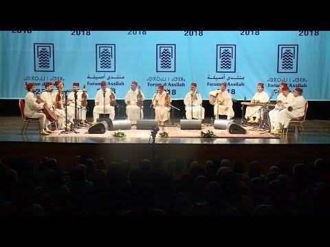 شاهد الأوركسترا العربية الأندلسية في فاس تتحف الجمهور بأمداح رائعة