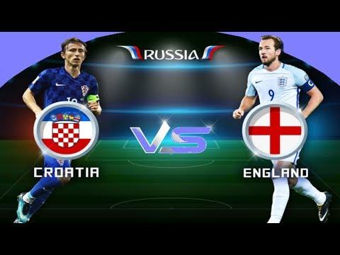 بث صوتي لمباراة كرواتيا وانكلترا