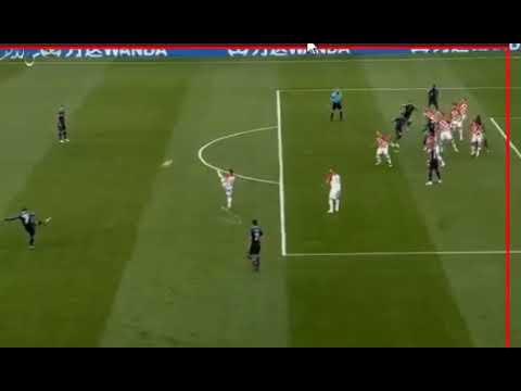 الهدف الأول للمنتخب الفرنسي في مرمى كرواتيا