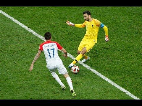 الهدف الثاني لمنتخب كرواتيا أمام فرنسا
