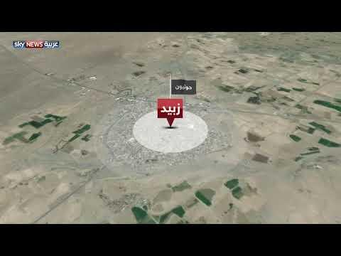 شاهدغارات للتحالف على مواقع للمتمردين في الحديدة