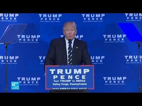 ترامب يوضح أنه غفل عن استخدام صيغة النفي
