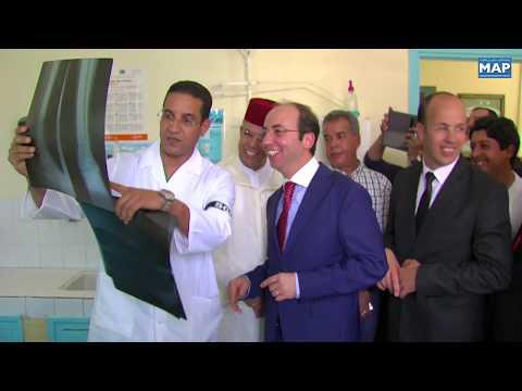 تدشين قسم الطب في المستشفى الإقليمي المختار السوسي في تارودانت