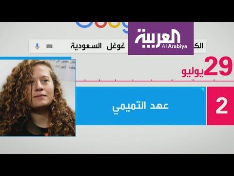 شاهد اسم عهد التميمي في صدارة تريند تويتر بعد الإفراج عنها