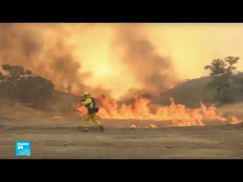الجفاف يؤجج الحرائق في كاليفورنيا