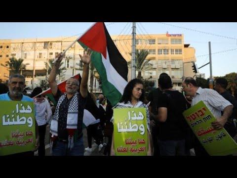 آلاف المتظاهرين في تل أبيب احتجاجا على قانون الدولة القومية