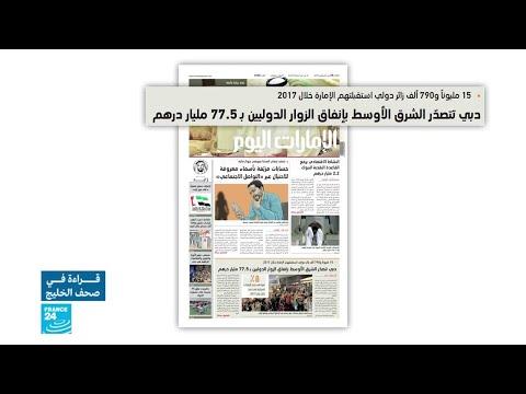 شاهد دبي تتصدر الشرق الأوسط بإنفاق الزوار الدوليين بنسبة 775 مليار درهم