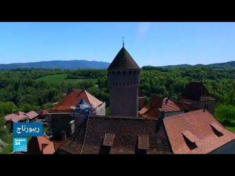 ترميم قصر بطرق حرفية قديمة حفاظًا على أصالته في فرنسا
