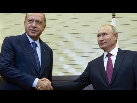 الرئيس الروسي يعلن عن الاتفاق المبرم مع نظيره التركي