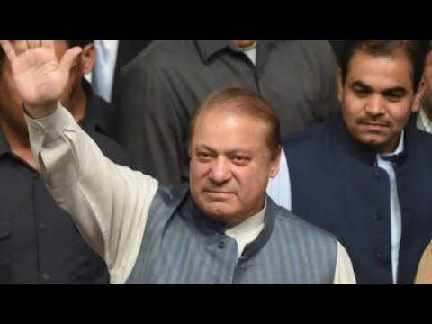 شاهد الإفراج عن رئيس الوزراء الباكستاني السابق وابنته وصهره