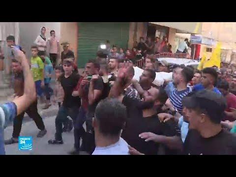 شاهد مقتل فلسطيني برصاص الجيش الإسرائيلي جنوب قطاع غزة