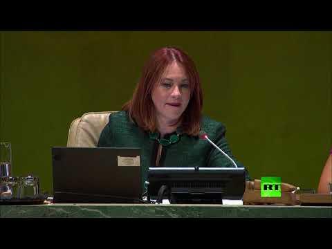 الصمت يسيطر على الحضور في الأمم المتحدة