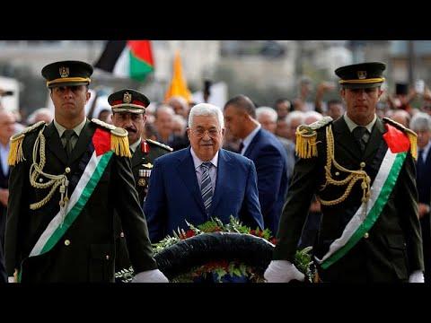 بالفيديوعباس يتوعد حماس ويتهمها بالتآمر لتعطيل قيام الدولة الفلسطينية