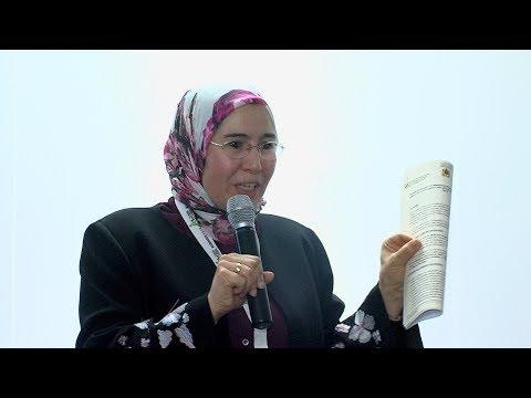 شاهد السيدة الوافي تبرز أهمية وتفرد التجربة المغربية في مجال تدبير النفايات