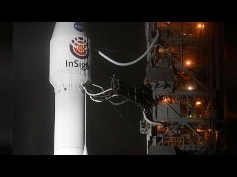 شاهد اقتراب أول مسبار آلي لدراسة المريخ في ختام رحلة مدتها ستة أشهر