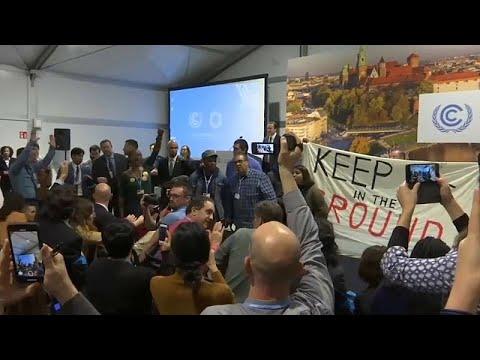 شاهد أميركيون يقتحمون اجتماعًا بمؤتمر المناخ
