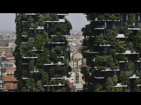 شاهد الغابات العمودية سبيل ميلانو للقضاء على التلوث