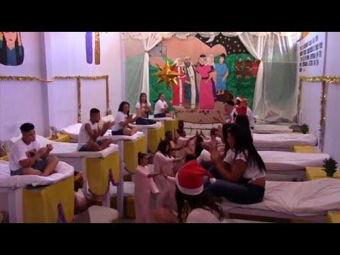 شاهد أجواء احتفالية في سجن برازيلي بمناسبة عيد الميلاد