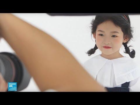 شاهد عروض الأزياء والتمثيل مهنة الأطفال في الصين