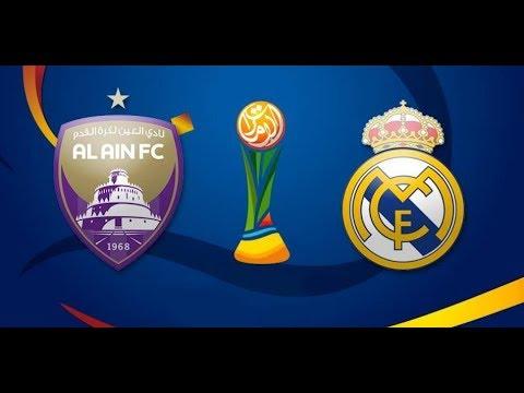 شاهد البث المباشر لمبارة العين الإماراتي وريال مدريد الإسباني