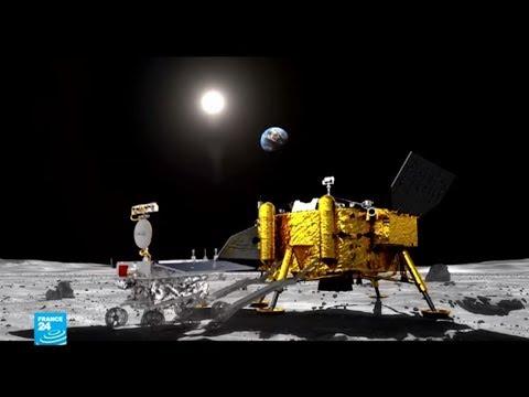شاهد مسبار صيني يهبط بنجاح على الجانب المُظلم من القمر