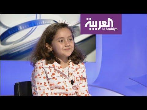 الطفلة المغربية الحاصلة على لقب مسابقة تحدي القراءة العربي
