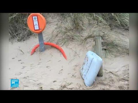 شاهد العثور على حطام يرجح أنه للطائرة المفقودة التي كان على متنها اللاعب سالا