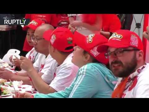 مهرجان تناول الفلفل الحار في بكين