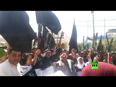 شاهد الفلسطينيون يحيون الذكرى الـ 71 للنكبة