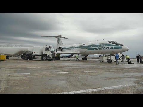 توبوليف 134 الأسطورية تقوم بآخر رحلة جوية لها