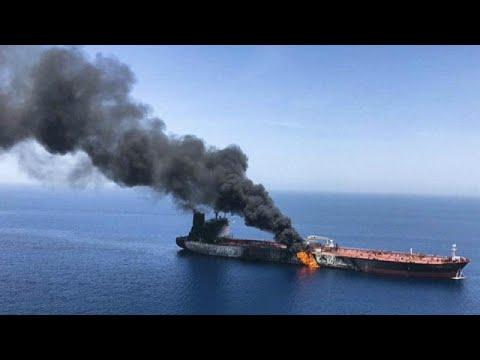 شاهد ردود فعل دولية بعد الهجوم على ناقلتي نفط في مياه الخليج