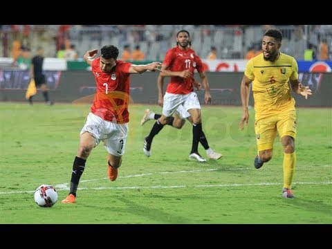 شاهد الهدف الأول لمنتخب مصر أمام زيمبابوي