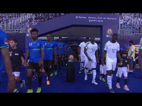مُلخَّص وأهداف مباراة السنغال وتنزانيا