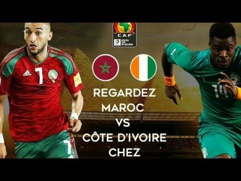 شاهد  بث مباشر لمباراة المغرب وكوت ديفوار