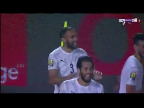 شاهد هدف لاعب المنتخب المصري أحمد المحمدي في شباك أوغندا