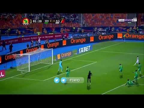شاهد هدف بغداد بونجاح الأول في مرمى منتخب السنغال