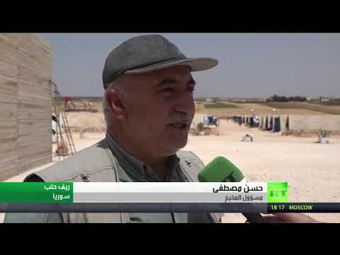 عشرات العائلات السورية في مخيم العودة يطالبون بالعودة إلى قراهم
