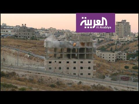 شاهد قوات الاحتلال ترتكب مجزرة جديدة وتهدم 100 شقة سكنية في وادي الحمص