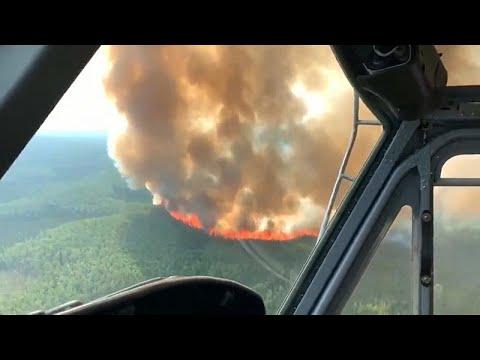 شاهد حجم الدمار الذي خلفته حرائق الغابات اليومية في ألاسكا
