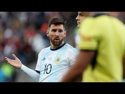 شاهد إيقاف ليونيل ميسي عن اللعب مع المنتخب الأرجنتيني 3 أشهر