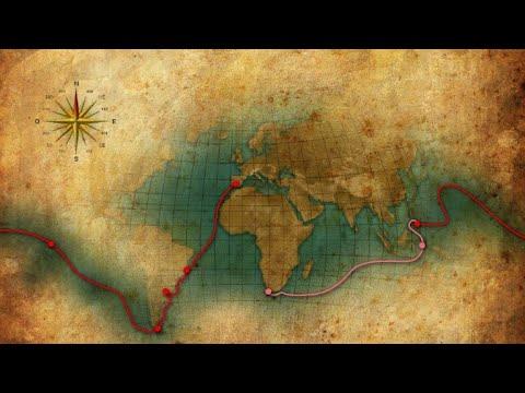 شاهد رحلة البرتغالي فرناندو ماجلان حول العالم