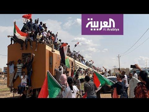 شاهد المجلس السيادي يستعد لأداء اليمين في السودان