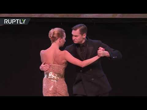 مسابقة رقص التانغو الدولية في الأرجنتين