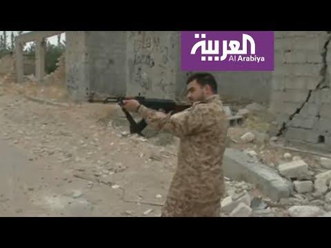 تجدد الاشتباكات خلف مطار طرابلس في ليبيا